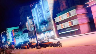 Jogando GTA V em Vice City?