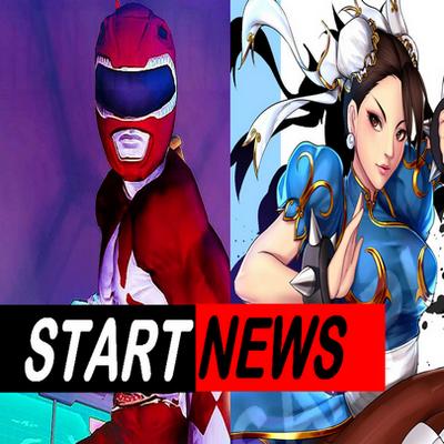 Street Fighters no Power Rangers e mais