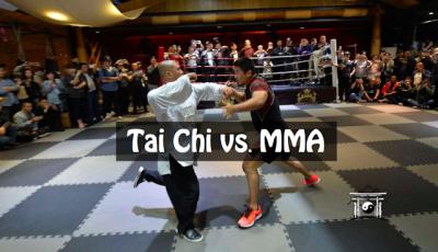 O que acontece quando um Lutador de MMA vs enfrenta um de Tai Chi