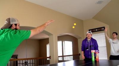 Os melhores TrickShots de Ping-Pong
