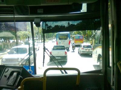 Tomando espaço dos ônibus