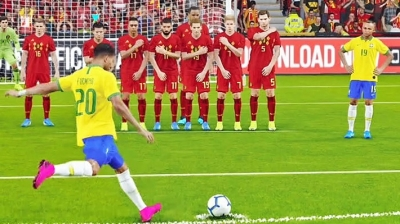Winning Eleven 9 - Brasil x Bélgica