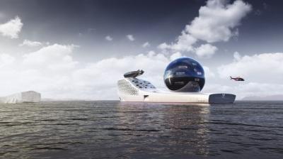 Earth 300: embarcação movida a energia nuclear vai investigar mudanças climática