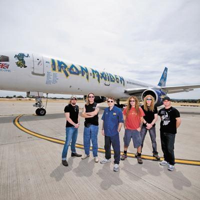 Bandas de Rock que usam Aviões Personalizados
