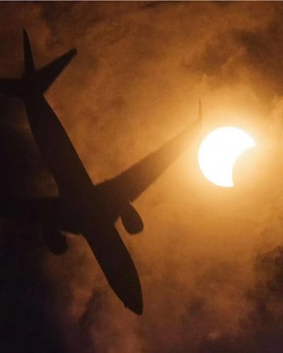 As melhores fotos de eclipses que você vai ver