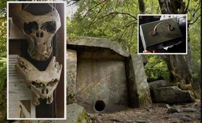 Estranha maleta e crânios descobertos nas montanhas da Rússia