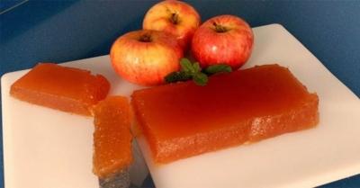 Marmelada de maçã no micro ondas