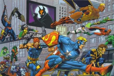 Você conhece a Amalgam Comics? Ela é a fusão entre Marvel e DC