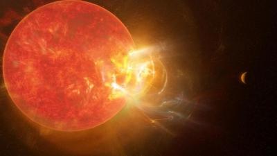 Proxima Centauri regista explosão estrelar gigantesca