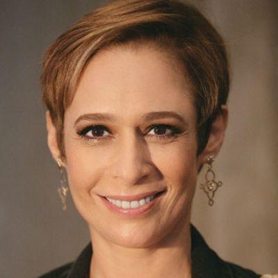 Andréa Beltrão aparece caracterizada de Hebe Camargo para filme