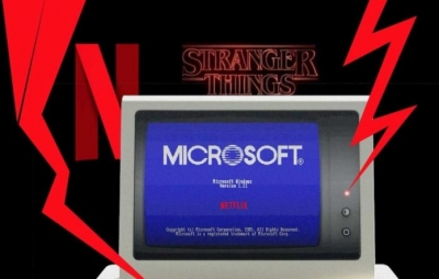 App da Microsoft mostra o software de 1985, ano de 'Stranger Things'