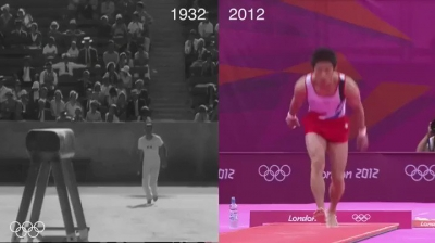 Mesma medalha, 80 anos de diferença.