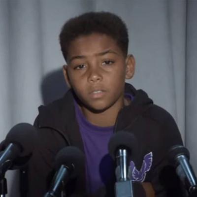 Garoto de 9 anos anuncia sua aposentadoria