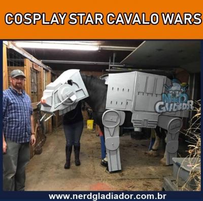 Melhor Cosplay representando a Nave de Star Wars