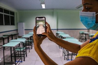 Vigilância sanitária fiscaliza escolas no Recife