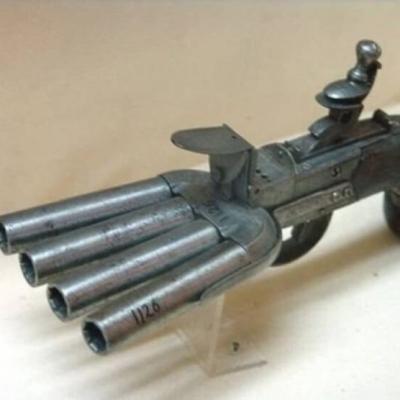 Armas bizarras do passado que vão deixar você de boca aberta