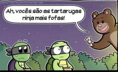 Pobres tartaruguinhas