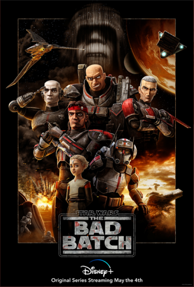Star Wars: The Bad Batch ganha pôster