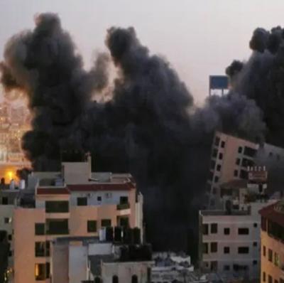 Bombardeio israelense derruba 2021