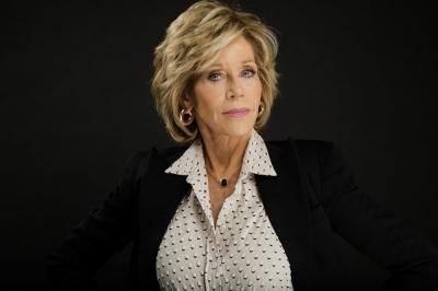 Jane Fonda reproduz vídeo clássica para estimular voto nos Estados Unidos