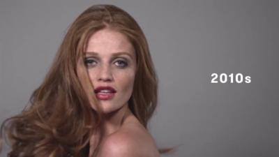 100 anos de beleza brasileira em um vídeo só