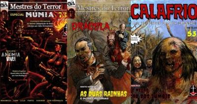MESTRES DO TERROR - Editora Ink&Blood anuncia lançamento triplo para agosto