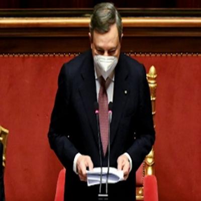 Draghi esboça reforma europeísta e ambientalista 2021