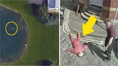 15 imagens estranhas do Google Maps que foram salvas antes de serem censuradas