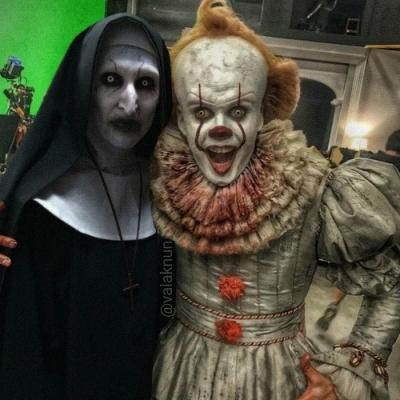 Como são na vida real os atores dos filmes de terror