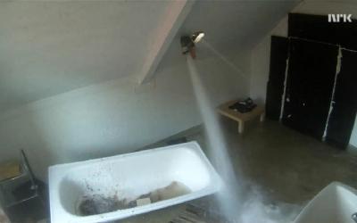 O que acontece se você encher um cômodo inteiro com água