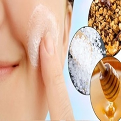 Saúde e beleza da pele do rosto, receitas de esfoliantes caseiros