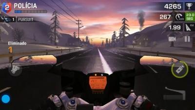 Racing Fever: Moto 'Eliminado a Polícia'