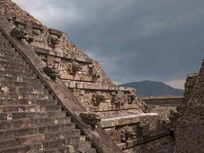 O mercúrio liquido encontrado em Teotihuacan poderia ser combustível de naves al