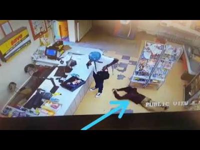 Ladrão é roubado enquanto assaltava estabelecimento
