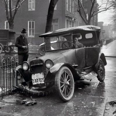os acidentes com carros
