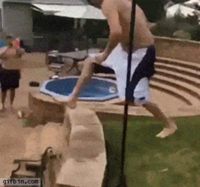 O homem que não sabia pular