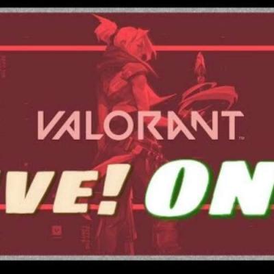 Live - Valorant com time completo do Blog!