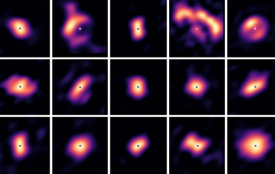 Veja imagens raras de discos formadores de planetas ao redor de estrelas