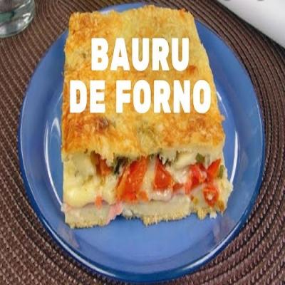 Não Há Quem Resista ao Delicioso Bauru de Forno