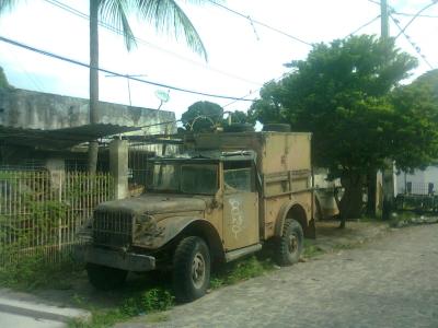 Sucatas do Exército