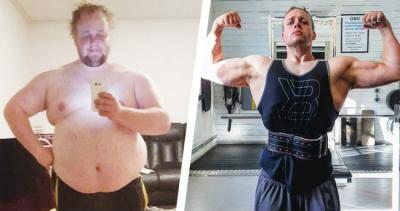 Esse Cara Perdeu 81,6 Kg Aprendendo a Comer e se Exercitar de Forma Mais Intelig