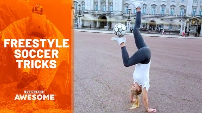 Os melhores truques freestyle de futebol que você vai ver