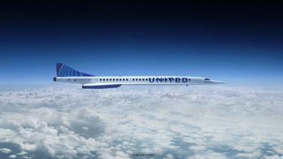 United Airlines planeia viagens supersónicas