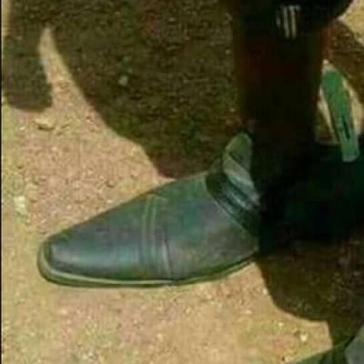 Sapato ajustável