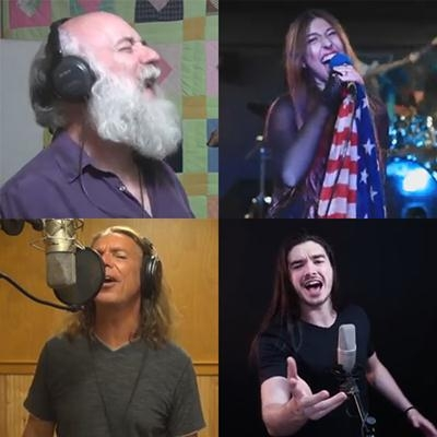 Refrões marcantes do Rock cantados por Youtubers