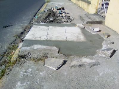 Prefeitura de Olinda mandou tampar buraco (Ates e Depois)