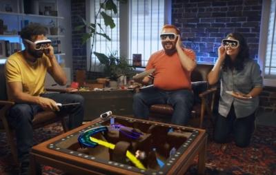 Óculos de realidade aumentada promete revolucionar jogos de tabuleiro