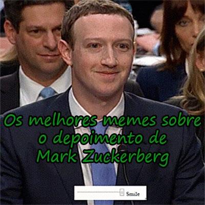 Os melhores memes sobre o depoimento de Mark Zuckerberg
