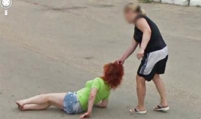 As cenas mais bizarras do Google Street View
