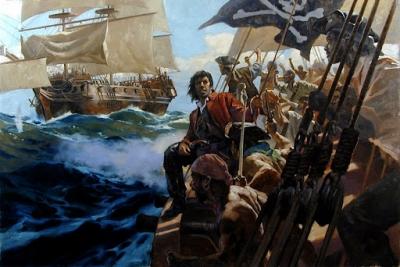 Conheça todas as armas usadas pelos piratas